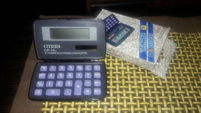 Калькулятор Citizen CP-15, новый, книжечка.