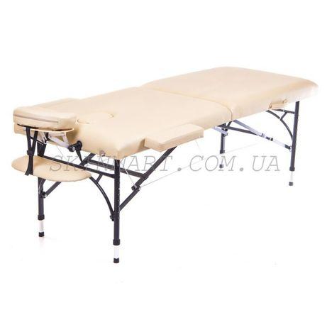 Кушетка для шугарінга стіл масажний алюмінієвий без передплати