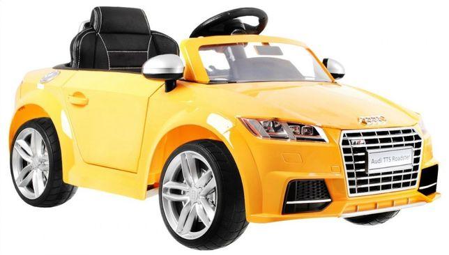 Oryginalny samochód Audi TT RS 2.4G Lakierowany na akumulator Skóra