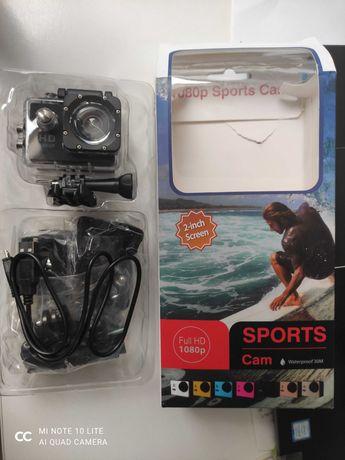 Kamera sportowa 1080 p full hd