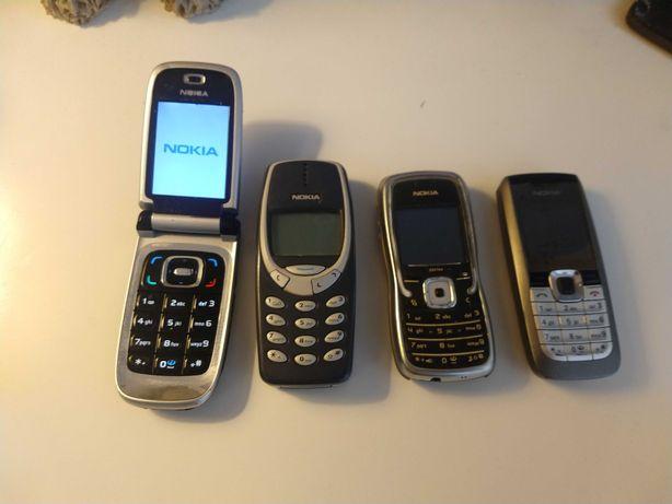 Telefony Nokia uszkodzone