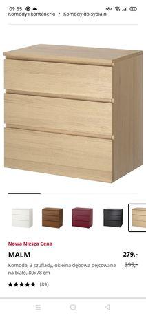 Komoda Ikea malm 3 szuflady