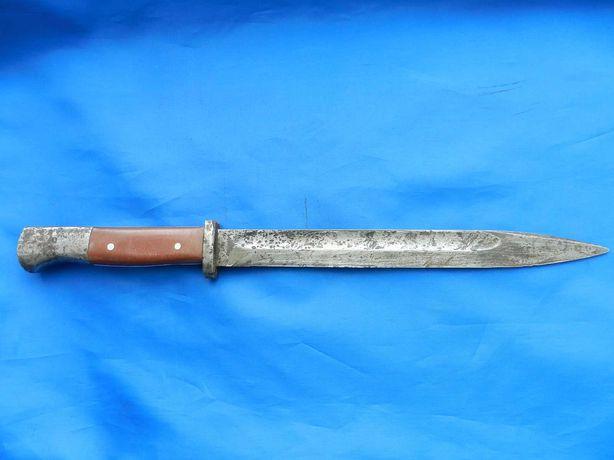 Штык нож немецкий.Оригинал.Накладки из ссср.