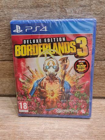 Nowa gra Borderlands 3 Deluxe Edition na Playstation 4 folia