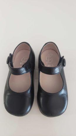 Sapatos menina em pele - tam. 21