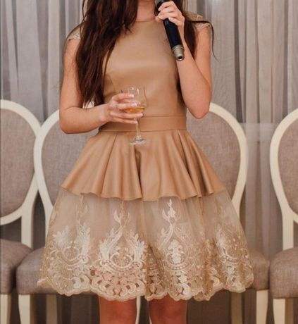 Выпускной, коктейльное платье