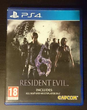 Resident Evil 6 gra PS4 - wydanie PL - 100 % sprawna