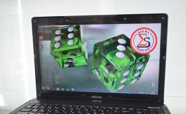 Бизнес ноутбук ASUS K52F. Хорошие параметры. Состояние нового! SIGMA