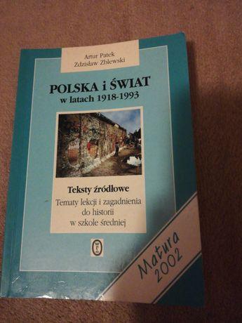 Historia. Polska i Świat 1918 - 1993