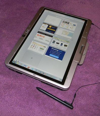 Брендовый ноутбуко-планшет трансформер HP 2740p barebone