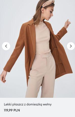 Płaszcz brązowy M