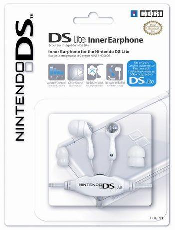 Hori DS Lite Inner Earphone (Auscultadores) - Nintendo DS NOVO