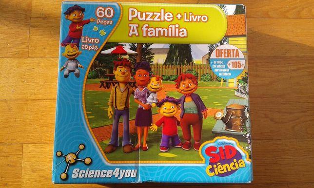 Puzzle Sid Ciência - 60 peças
