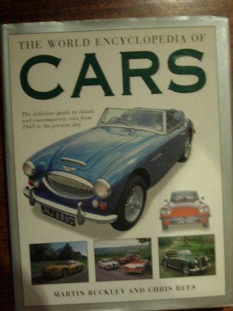 "Livro ""The world encyclopedia of cars"""