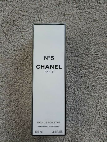Chanel no5 eau de toilette оригинал новый n5