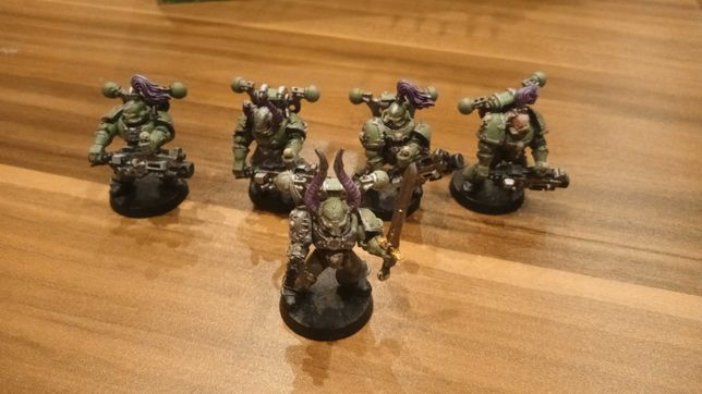Chaos Space Marines CSM Havocs X5 Heavy Bolter WH40K Warhammer 40.000