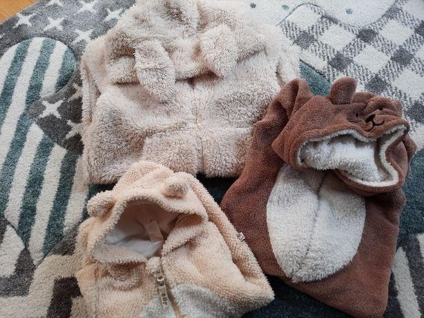 Piżama, kombinezon Królik (10 lat 140 cm) i Misie (2-3 l oraz newborn)