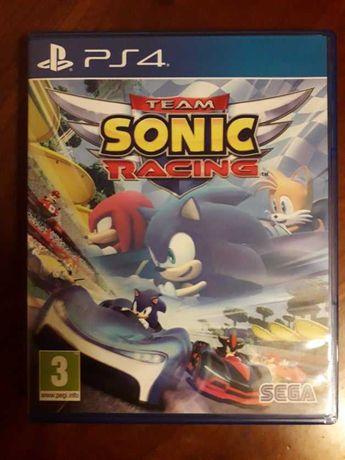 Team Sonic Racing - Ps4 - Como Novo