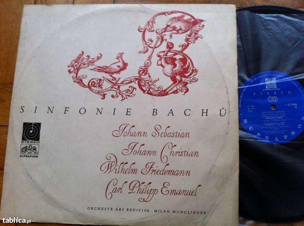 Płyta winylowa - Sinfonie Bachu- Milan Munclinger