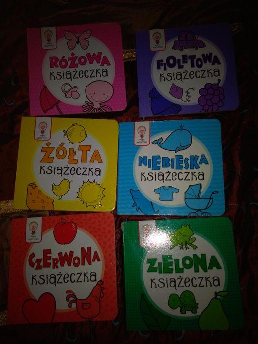 Kolorowe książeczki 6szt Lubliniec - image 1