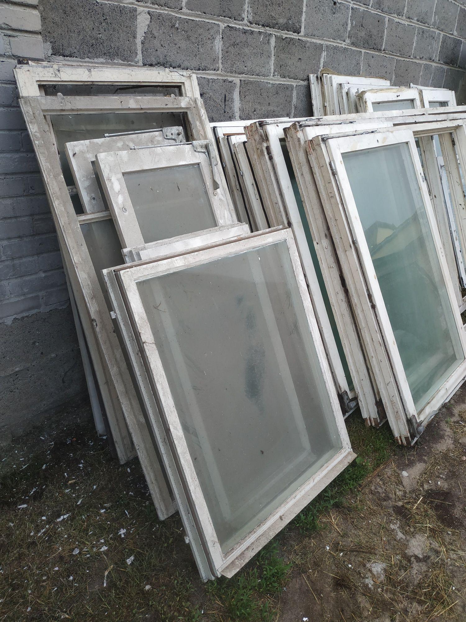 Okna drewniane szyby