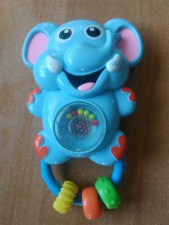 Музыкальный слон baby mix, обезьяна