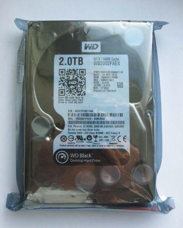WD Black 2TB 7200rpm 64MB SATA3 (Нoвый, в упаковке))