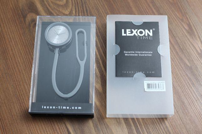 Nowy, sylikonowy zegarek Lexon szary