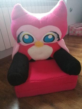 Fotel dzieciecy sówka