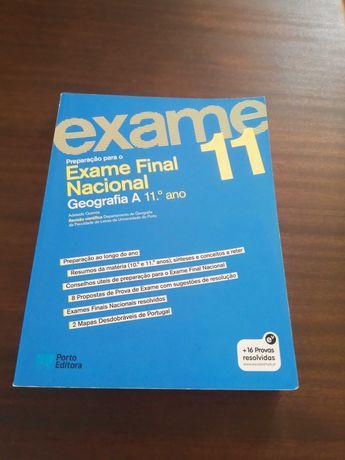 Manual de preparação Exame Final Geografia A 11.º ano