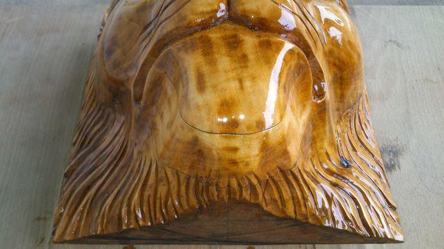 Декор для дому, Лев, фігура з дерева