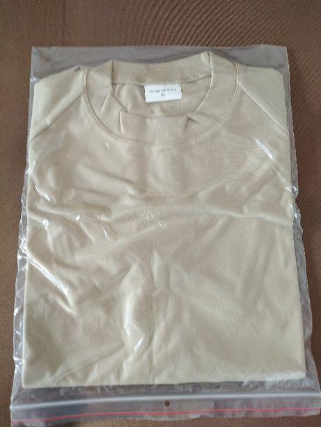 Koszulka termoaktywna piaskowa rozmiar xl