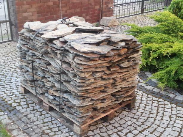 Kamień elewacyjny, łupek szarogłazowy - WARSZAWA