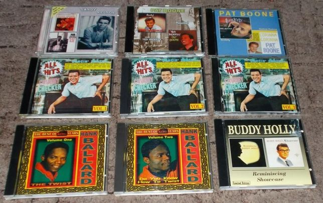 ZESTAW 10 CD - LATA 60-te (okazja tania płyta)