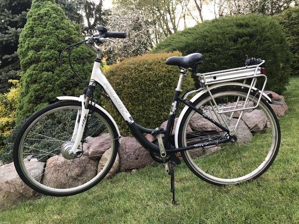 Rower elektryczny raleigh