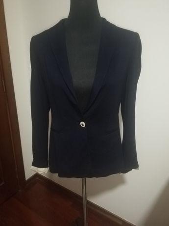 Último preço #Blazer Zara#azul Marinho