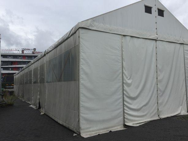 Hala namiotowa 8,5x30 z profili stalowych