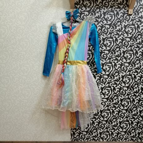 Карнавальный костюм платье Пони Радуга Единорог