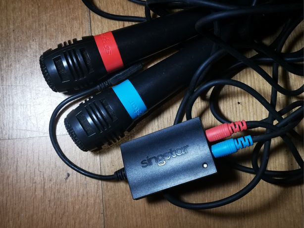 PS2 - 2 Microfones Singstar