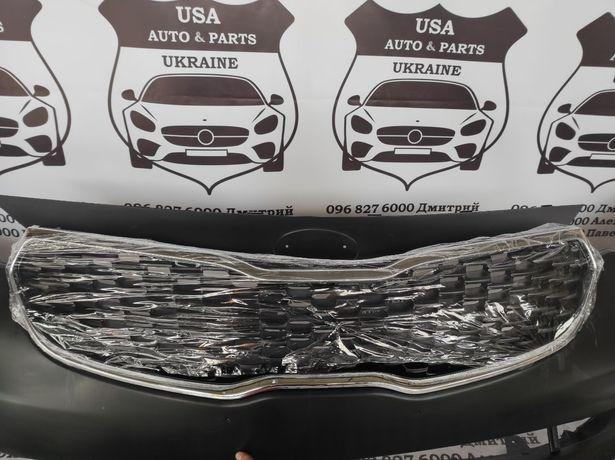 Kia Forte 13-16 Бампер Капот Крылья Фары Решетка