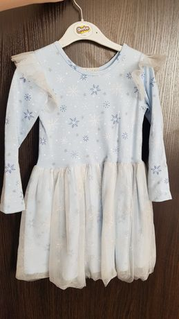 Платье Снежинка 110