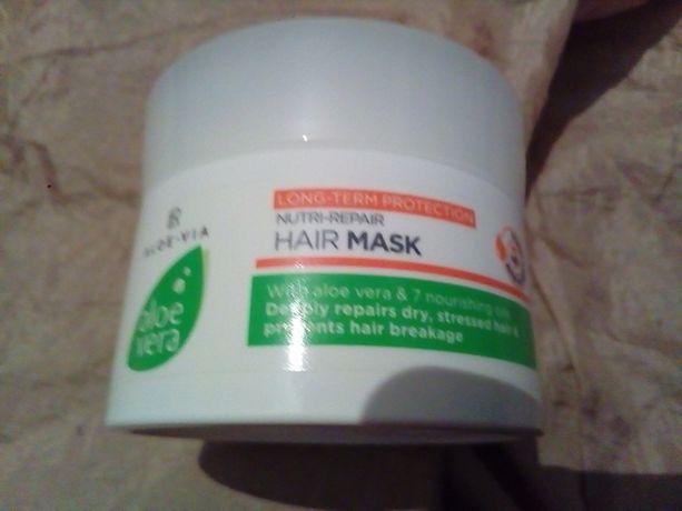 Маска для волос крем Aloe Vera