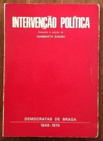 intervenção política, humberto soeiro, democratas de braga