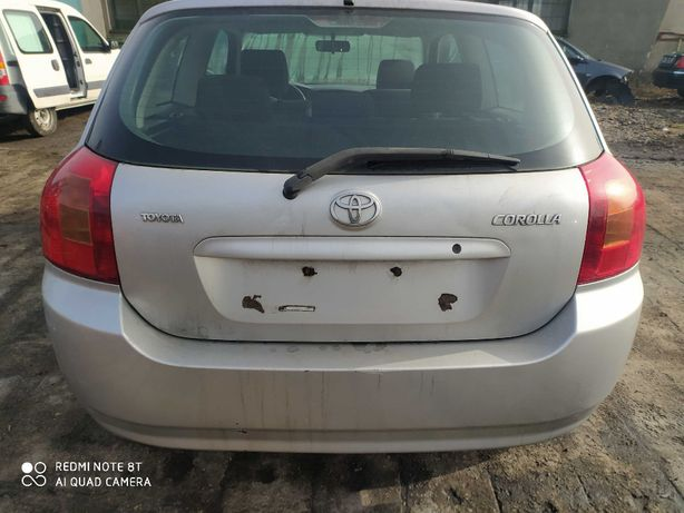 Zderzak tył Toyota Corolla