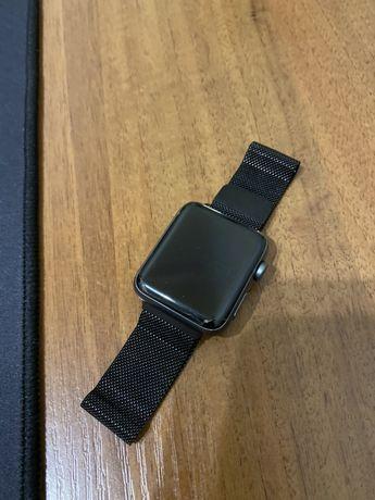 Ремешок миланская петля Milanese loop Apple watch 38/40mm