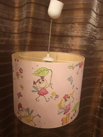 Lampa dla dziewczynki, żyrandol dla dziewczynki, lapma wisząca