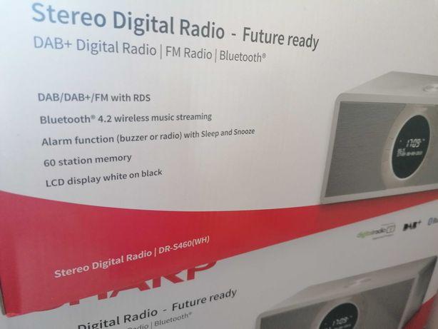 SHARP DR-S460 (WH) radio cyfrowe stereo DAB, DAB+, Bluetooth