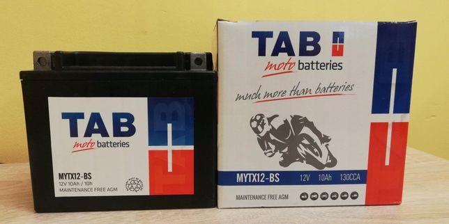 Akumulator motocyklowy Tab 12V/10Ah Ytx12-bs