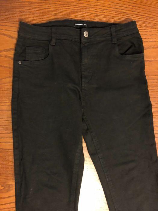 Czarne damskie jeansy Reserved 164 Wieliczka - image 1