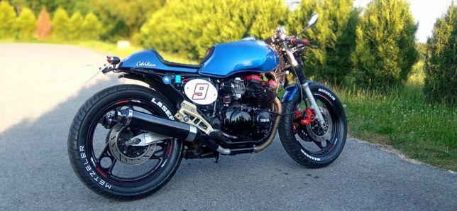 Yamaha Xj 600 cafe racer FILM !!!